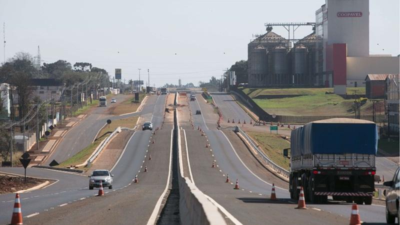Ecocataratas libera tráfego nas obras de duplicação da BR-277