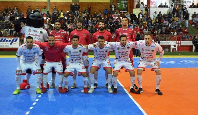 Acel enfrenta o Norte Futsal neste sábado no Deonisto Debona