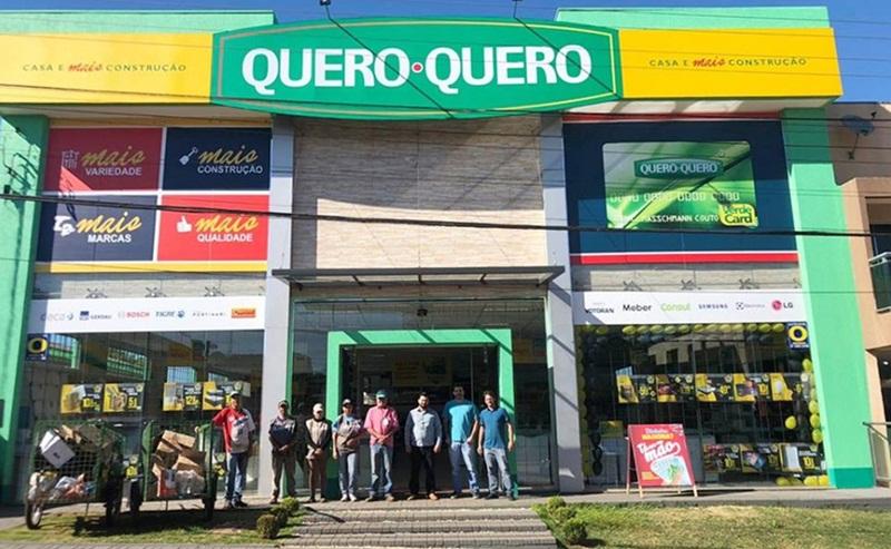 Loja Quero Quero apoia Cooperativa de Reciclagem em Candói