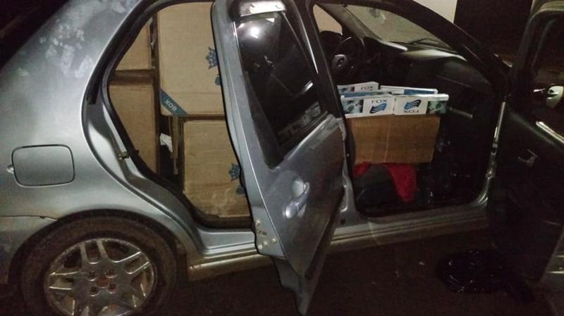 Veículo carregado com cigarro é apreendido em Marmeleiro
