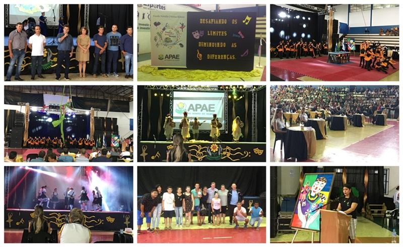 Festival Nossa Arte revela talentos da Apae em Rio Bonito do Iguaçu