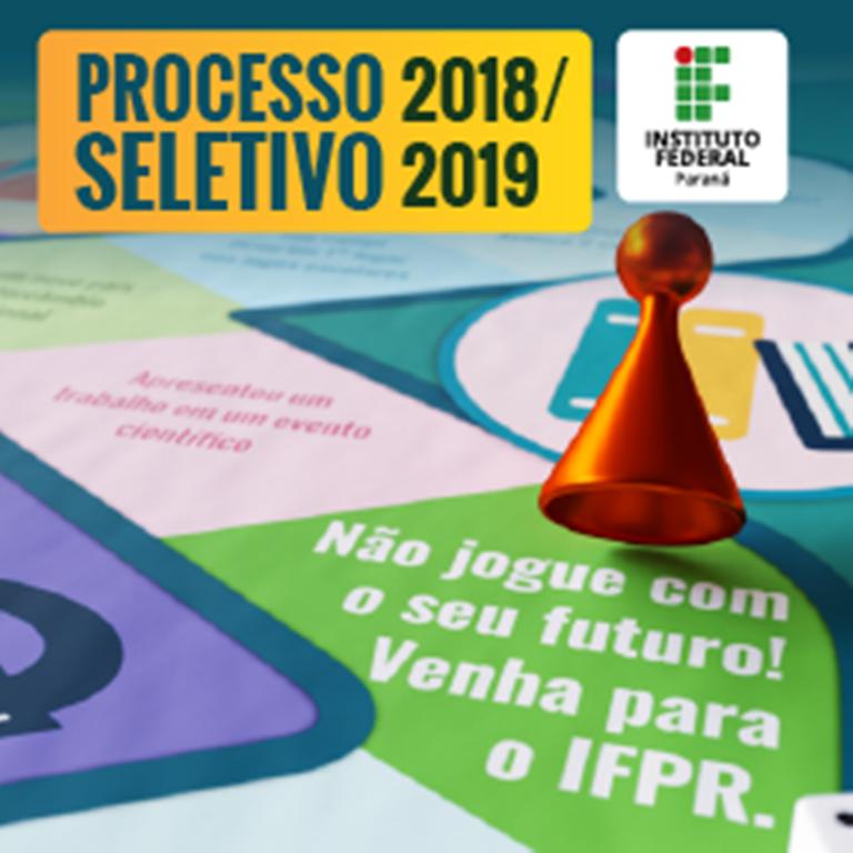 IFPR orienta aprovados no Vestibular sobre procedimentos de matrícula