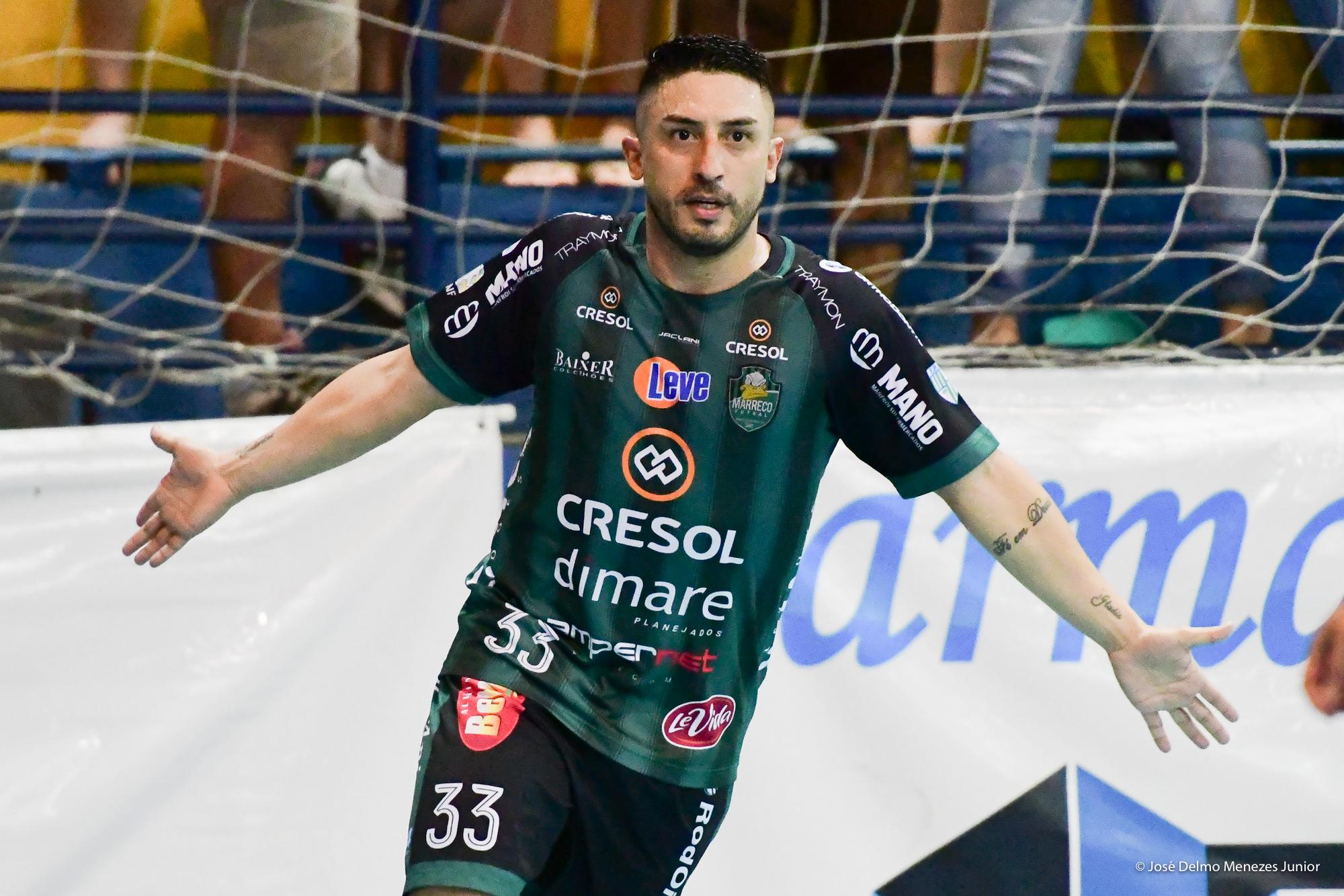Sinoê assume a camisa 10 e permanece no Marreco em 2019