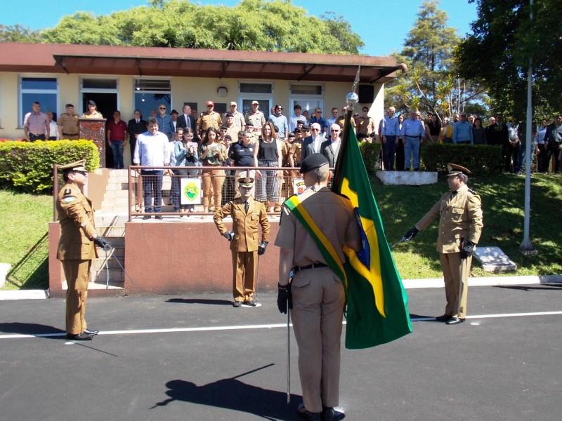 Troca de comando no 3º Batalhão de Polícia Militar de Pato Branco