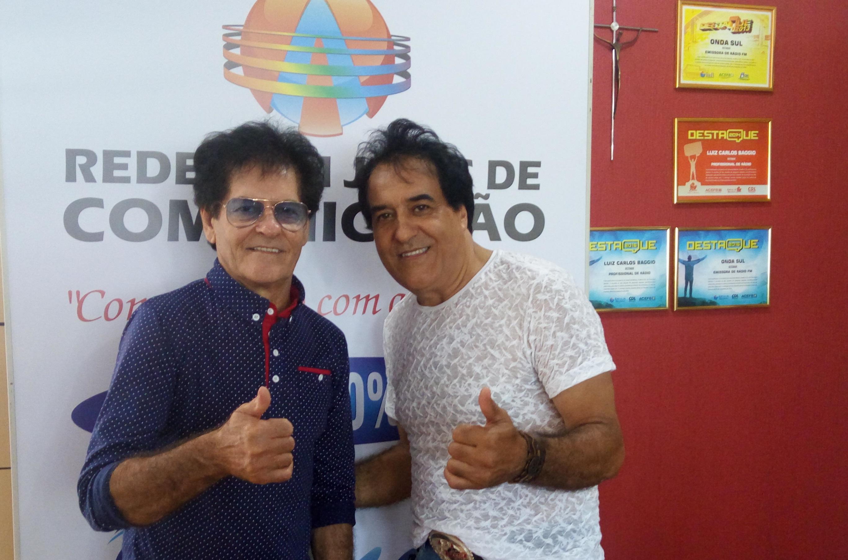 Bob & Robson visitam Rádio Onda Sul FM