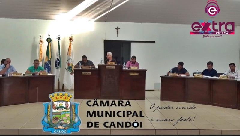Câmara de Candói realizou mais uma Sessão Ordinária