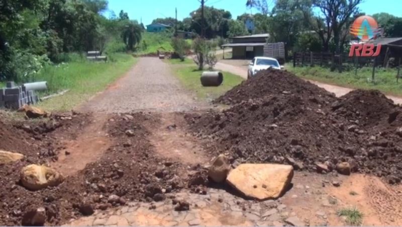 Distrito de Cachoeira, em Candói, terá ruas asfaltadas