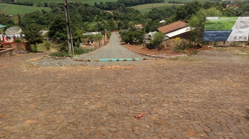 Ruas do Bairro Cohapar em Rio Bonito do Iguaçu serão asfaltadas