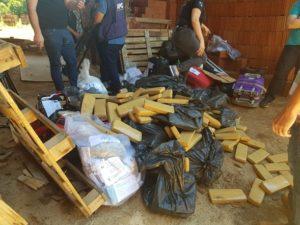 Polícia incinera mais de meia tonelada de drogas em Beltrão