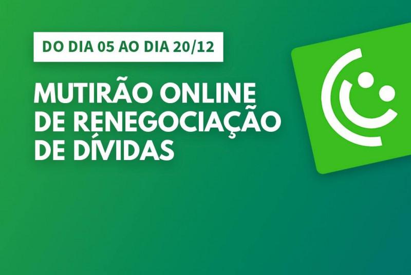 Procon de Palmas orienta sobre Mutirão Online de Renegociação