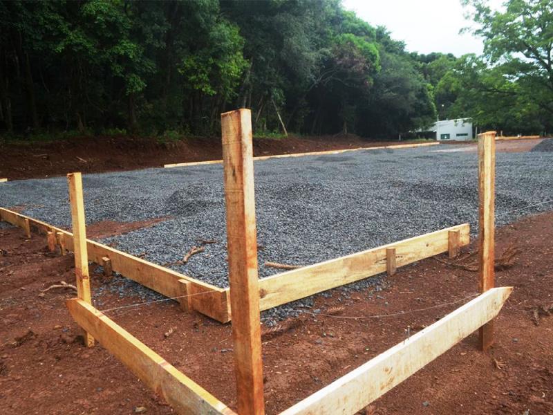 Iniciadas as obras da Mini Arena Esportiva no Parque do Lago