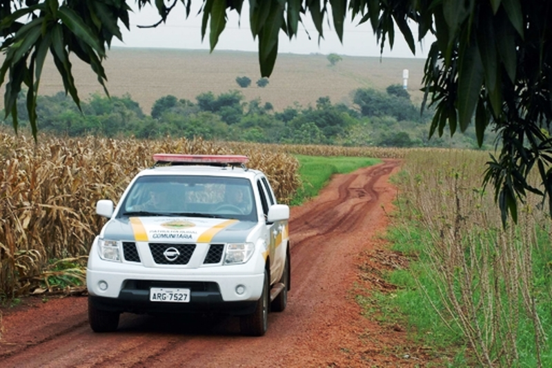 Polícia Militar intensifica patrulhamento no interior de Chopinzinho