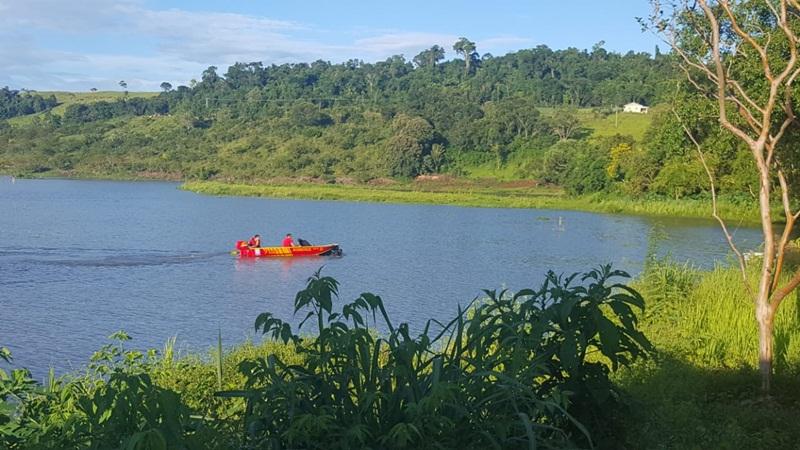 Corpo de jovem vítima de afogamento é encontrado no Rio Iguaçu, em Realeza