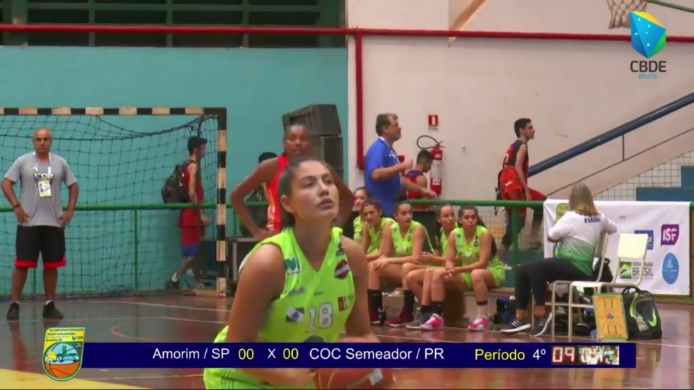 Palmense conquista título do Brasileiro Escolar de Basquete