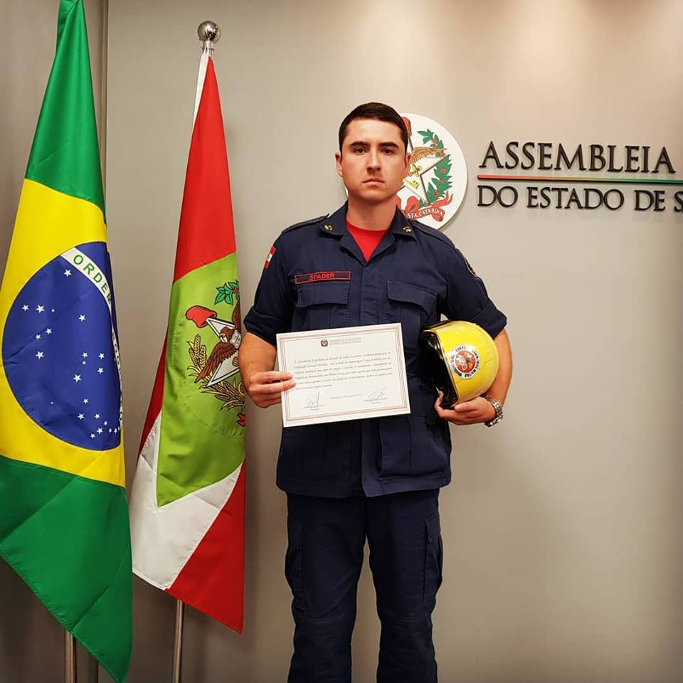 Palmense recebe homenagem da Assembleia Legislativa de Santa Catarina