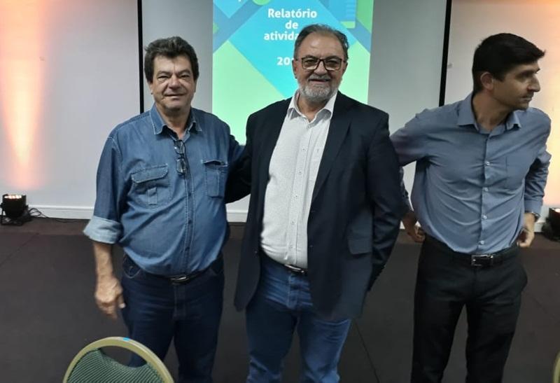 Prefeito de Rio Bonito do Iguaçu participa da eleição dos membros do Consórcio Paraná Saúde