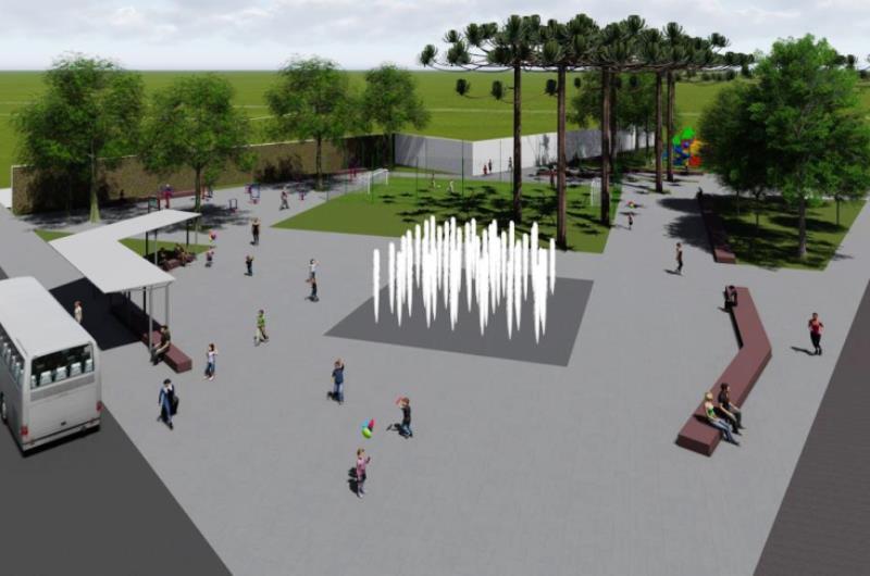 Mais de R$ 700 mil serão investidos na revitalização da Praça do Cristo Rei