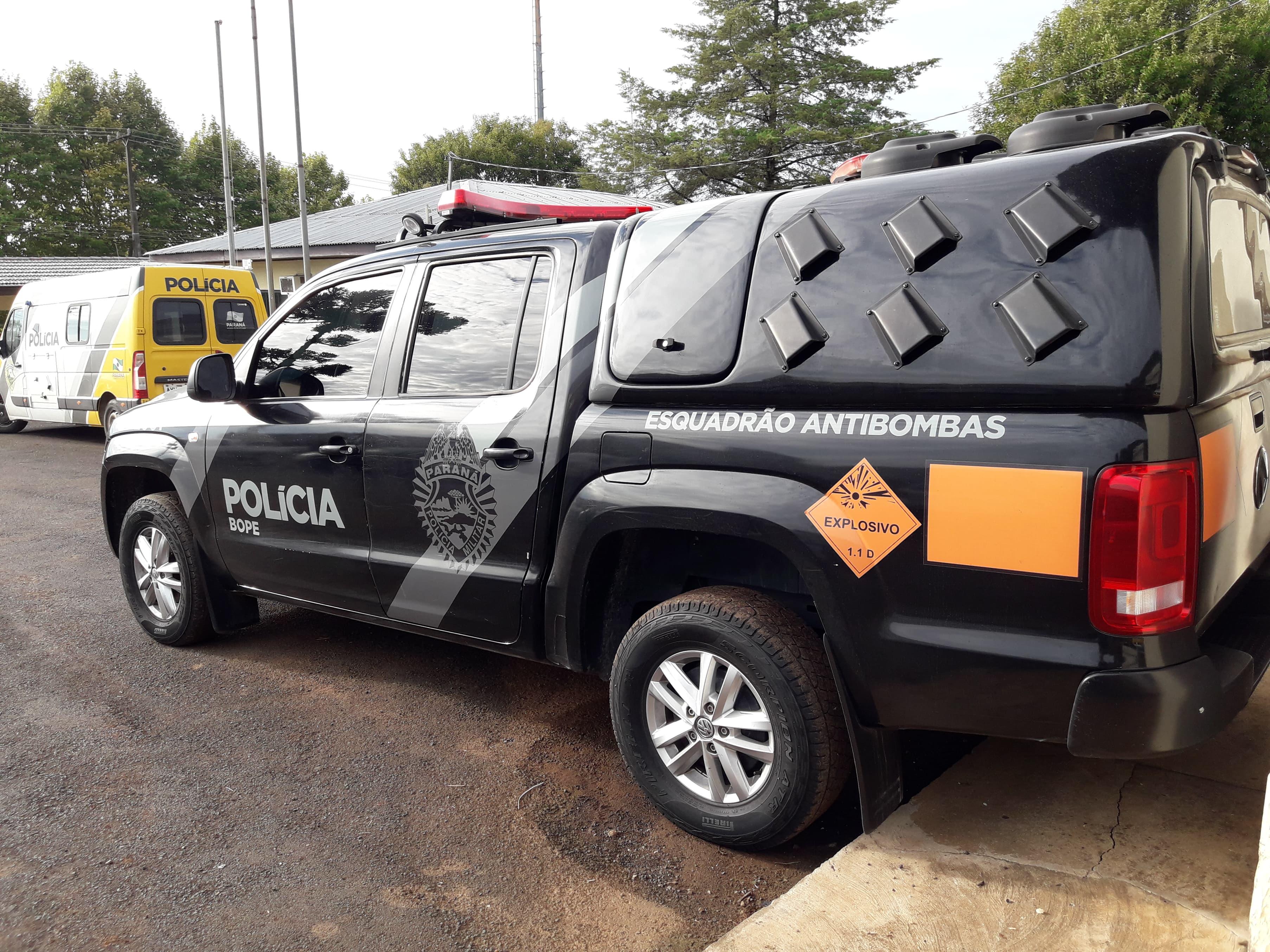 Forças de segurança analisarão material encontrado em Palmas