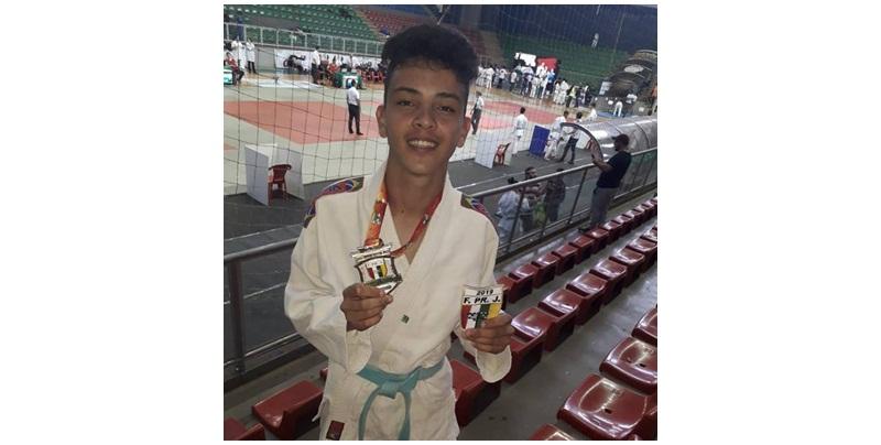 Aluno do SCFV de Candói conquista 1º lugar no Torneio Paranaense de Judô