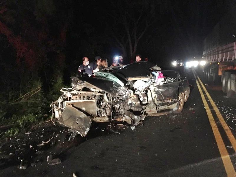 Sargento do Corpo de Bombeiros morre em acidente na PR-182