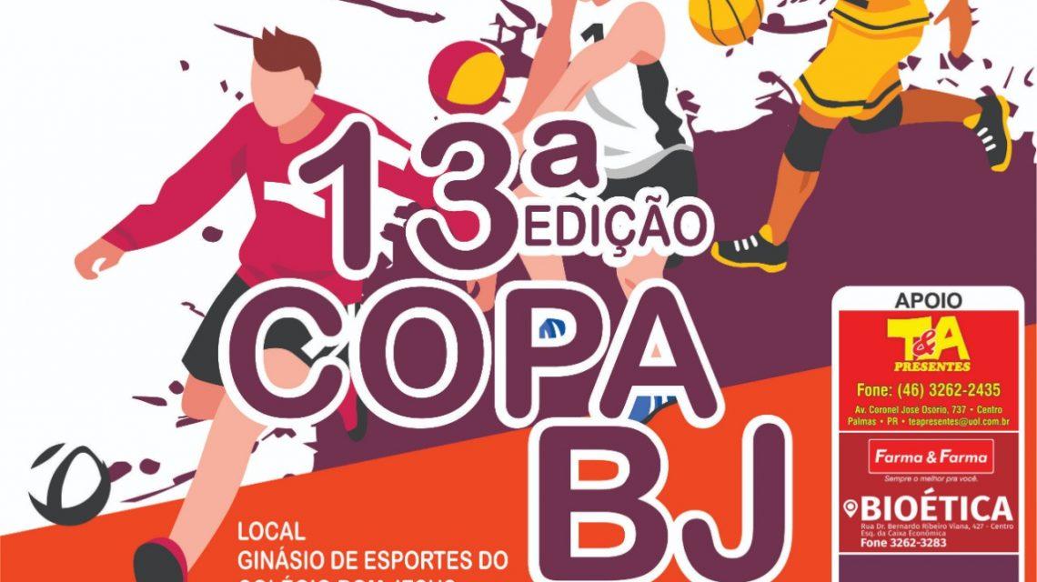 Começa nesta sexta-feira (17) a 13ª Copa BJ