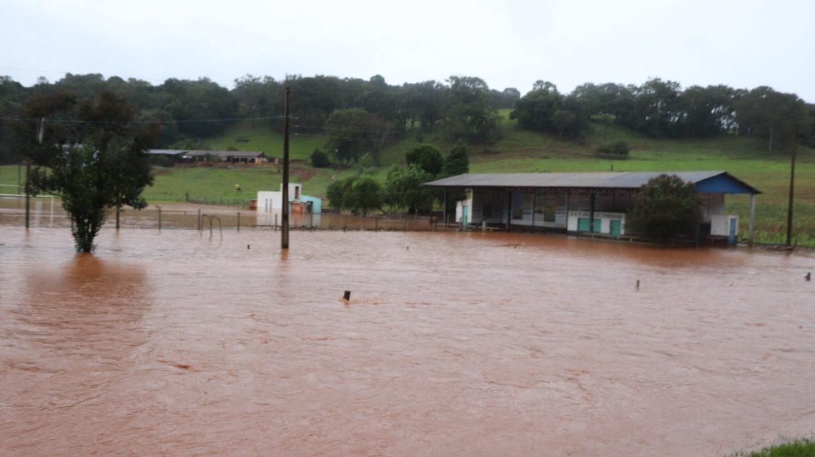 Abelardo Luz registra mais de 100 milímetros de chuva