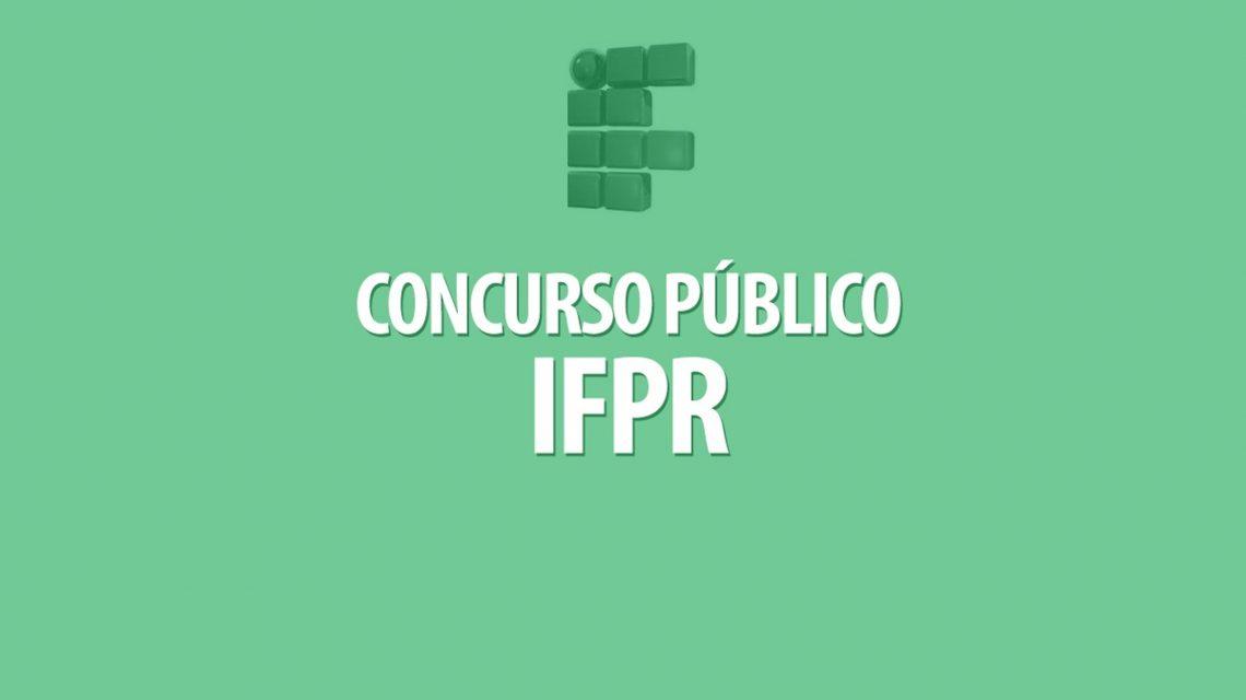 Publicados editais de concursos públicos do IFPR Palmas