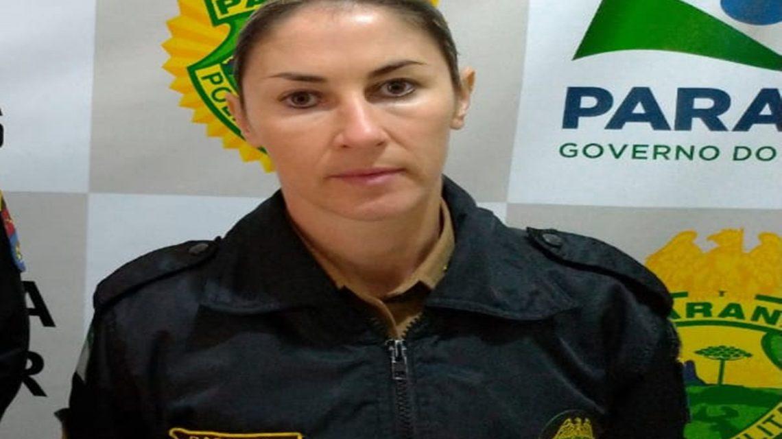 Cabo Solange assume interinamente comando da Polícia Militar em Chopinzinho
