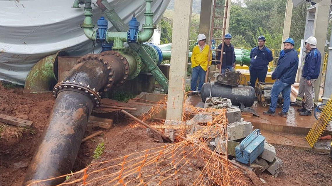 Nova adutora amplia tratamento de água em Francisco Beltrão