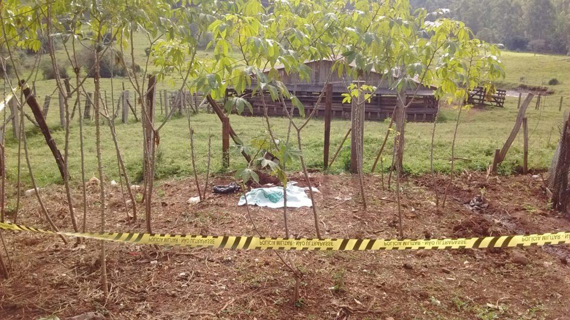 Bebê é encontrado enterrado no interior de Enéas Marques