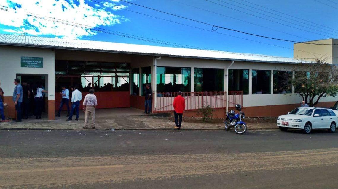 Inaugurada ampliação do Clube Amigos da Terceira Idade em Saudade do Iguaçu