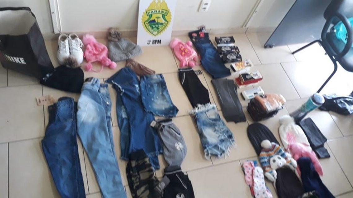 Mulheres são detidas por furto em Pato Branco