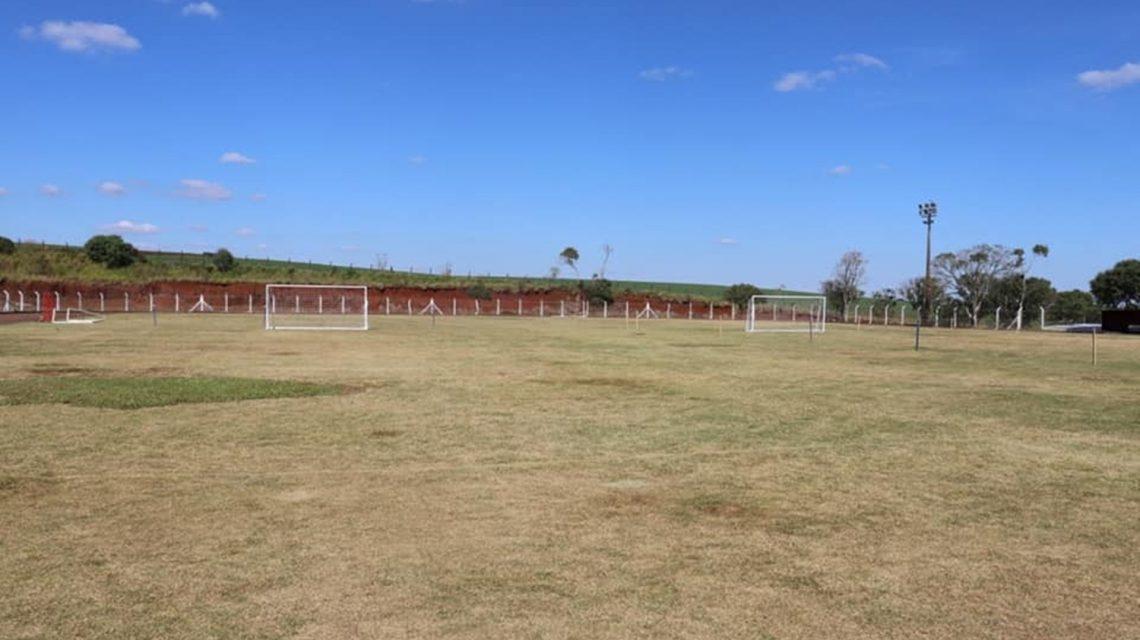 Estádio Gercy de Paula está sendo revitalizado em Candói