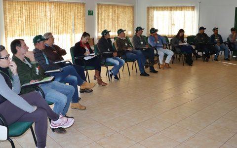 Curso de manejo de caprinos de corte está sendo realizado em Candói