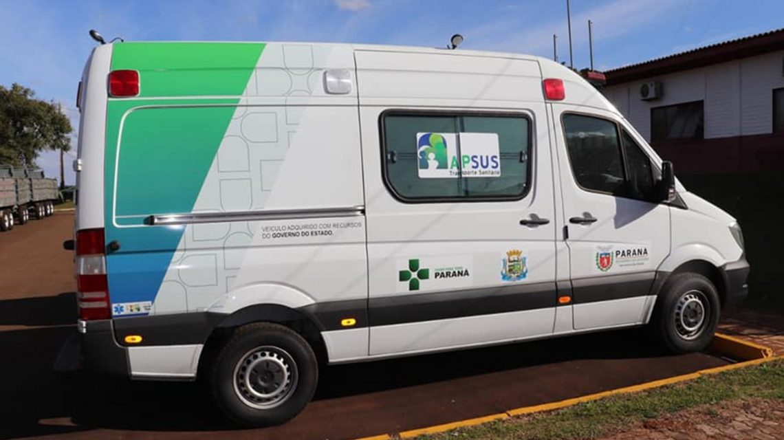 Candói adquire ambulância UTI móvel no valor de R$ 349 mil