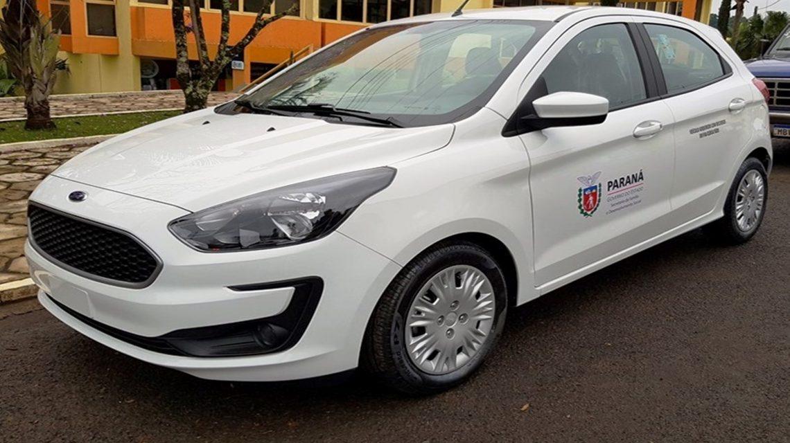 Administração Municipal de Sulina recebe carro 0 km
