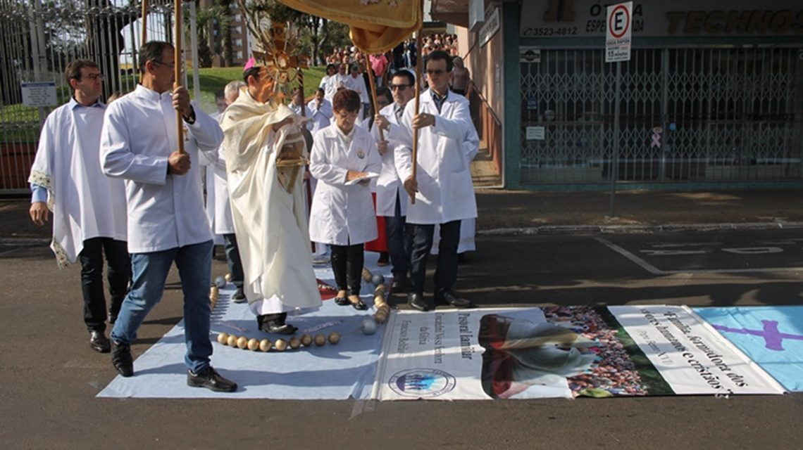 Dom Edgar Ertl celebrará Corpus Christi em Palmas