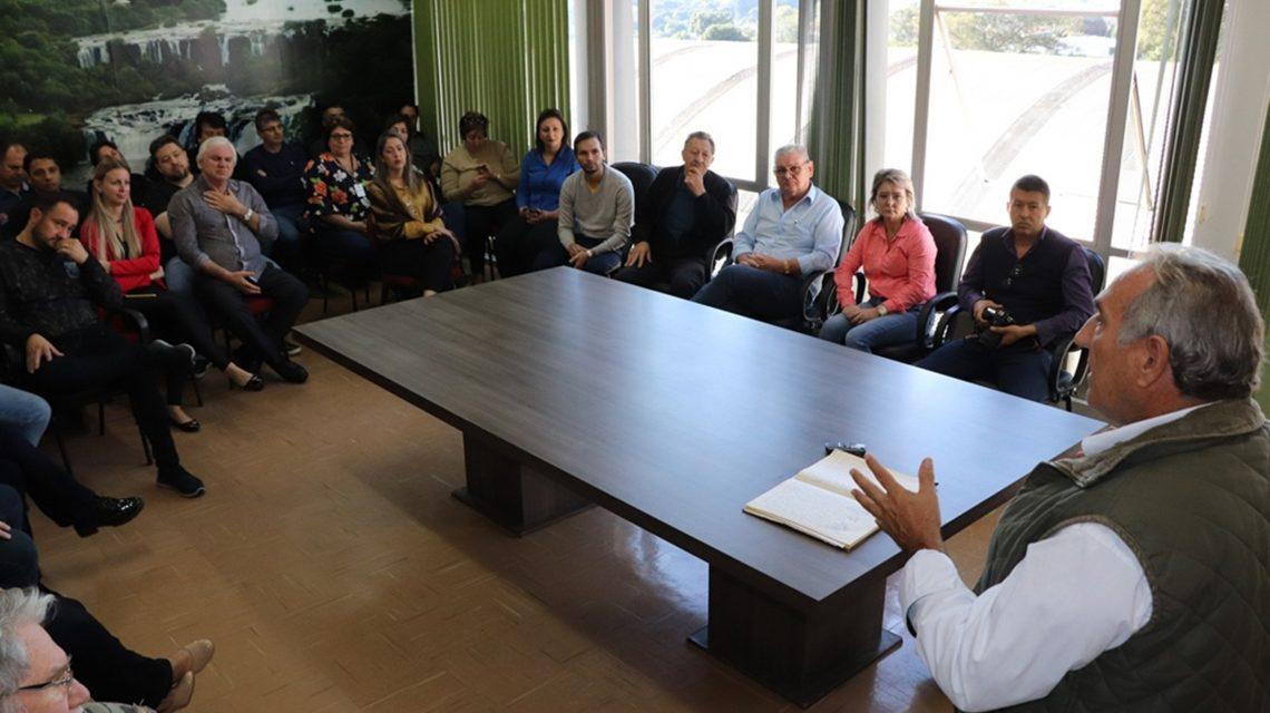 Vice assume em Abelardo Luz e dialoga pela reforma administrativa