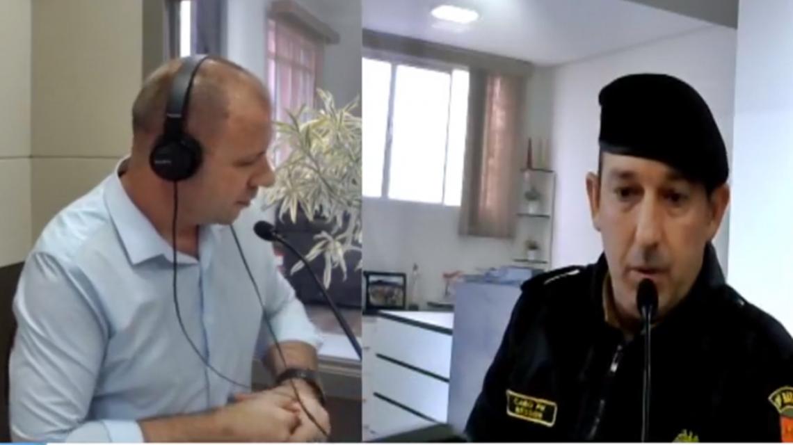 Cabo Marcelo Besson deixa comando da Polícia Militar em Chopinzinho