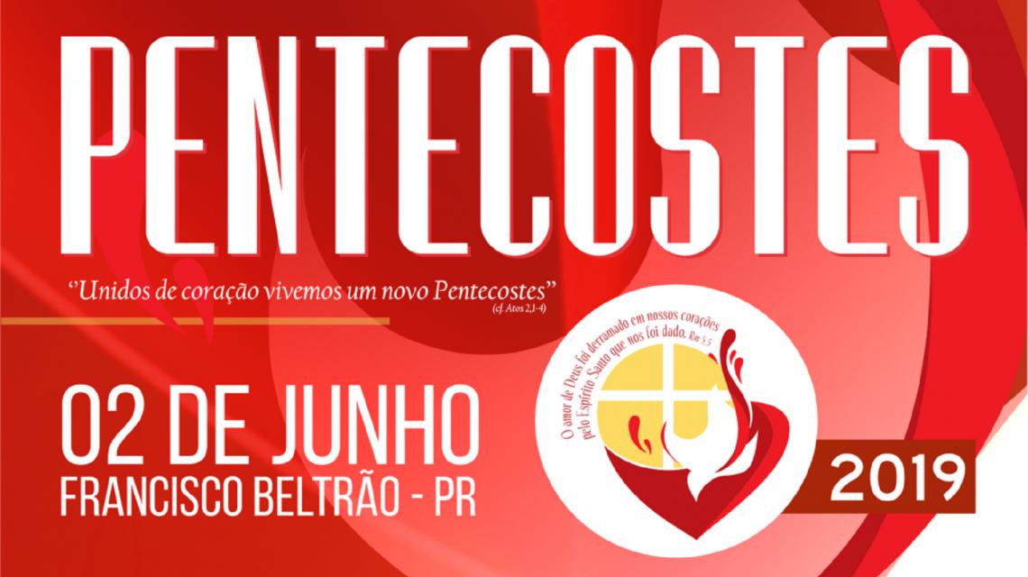 A celebração de Pentecostes acontece neste Domingo, em Francisco Beltrão