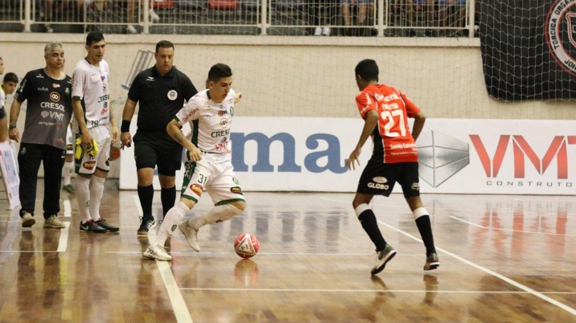 Marreco perde para o Blumenau e o Joinville no final de semana