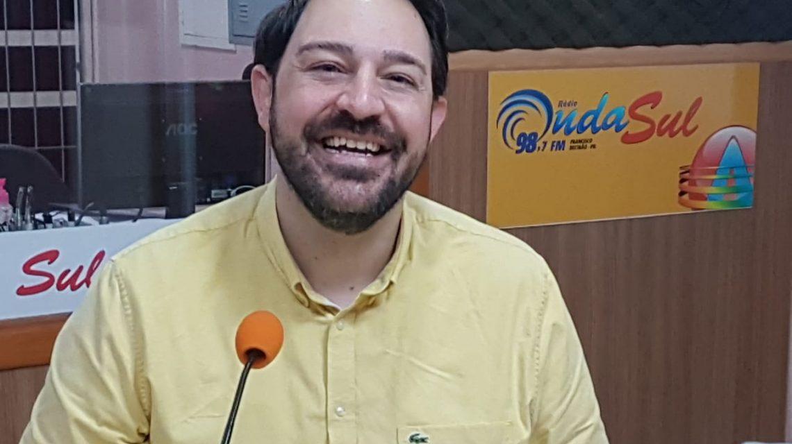 Partido Novo indica odontólogo Talles Vanderlinde à prefeitura de Francisco Beltrão