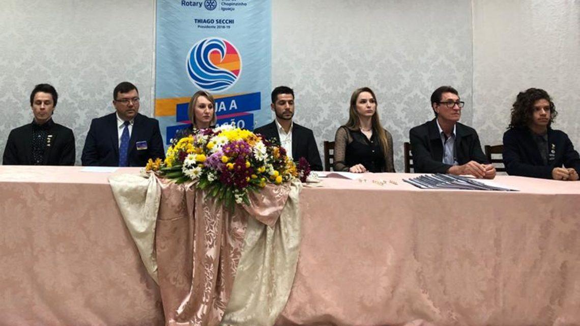 Rotary Club Chopinzinho Iguaçu tem nova presidência
