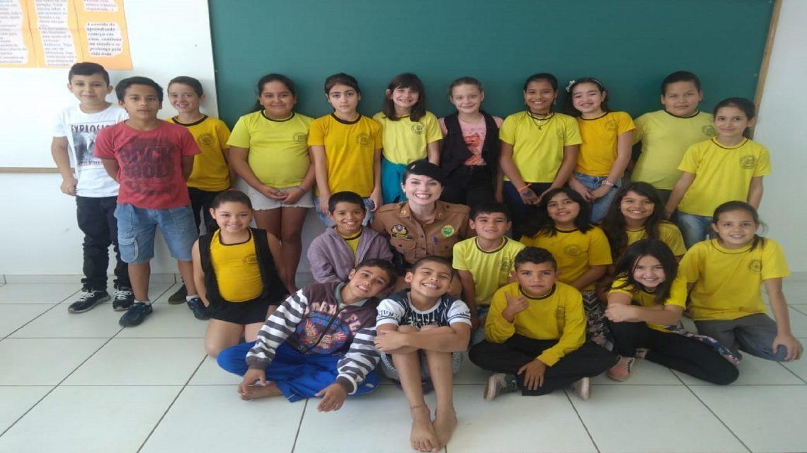 Proerd forma 680 alunos nesta quinta-feira em Francisco Beltrão