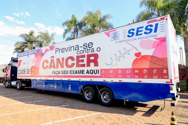 Caminhão do Sesi esterá em Dois Vizinhos a partir de segunda-feira