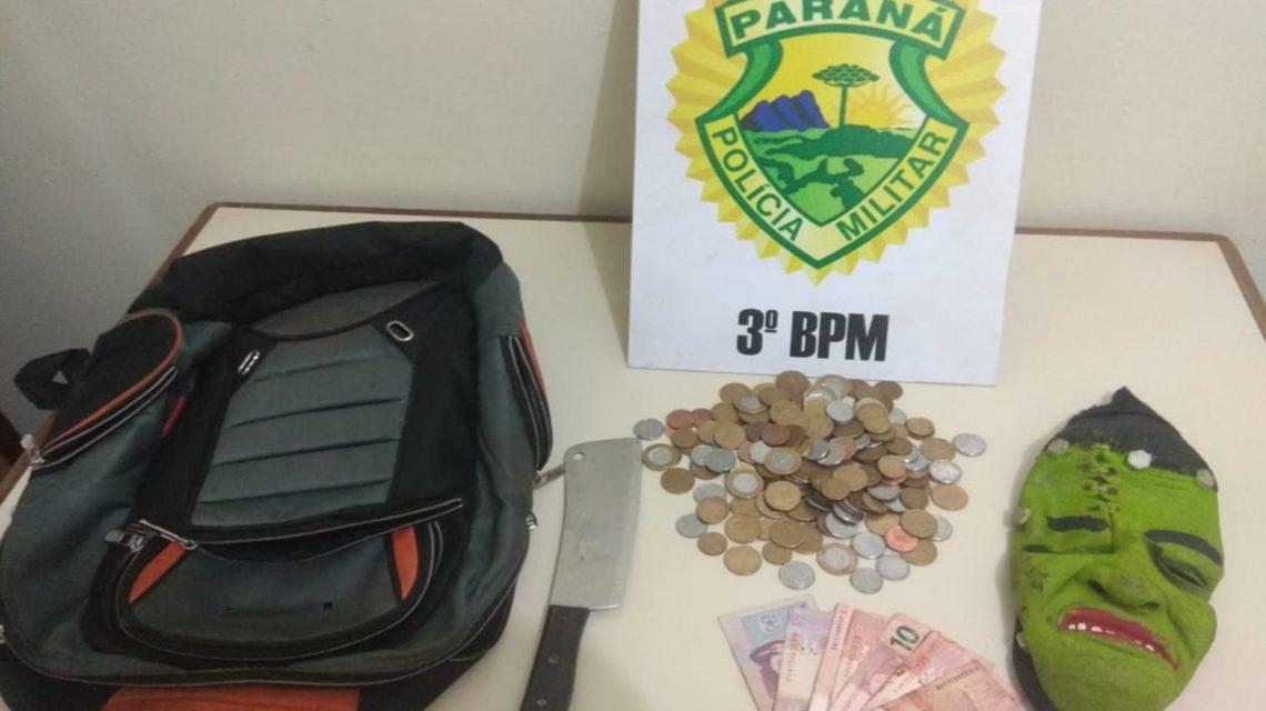 Adolescentes são apreendidos por assalto a farmácia em Clevelândia