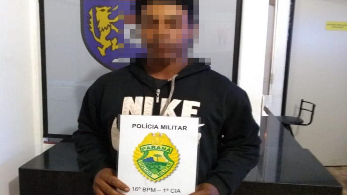 Polícia Militar cumpre mandado de prisão em Candói