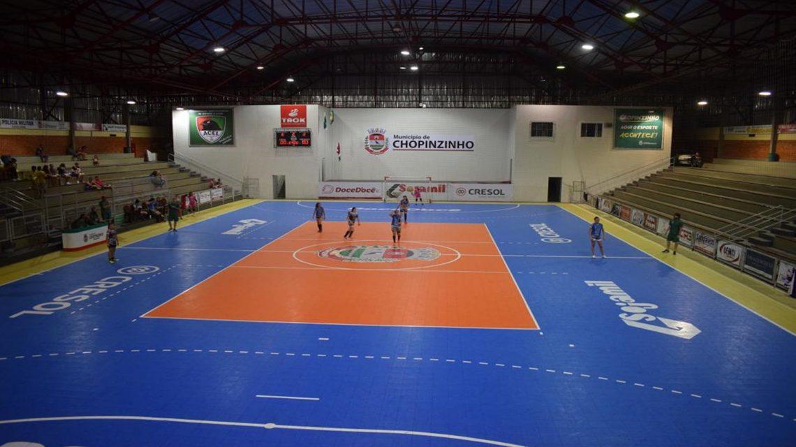 Campeonato Municipal de Futsal tem início em Chopinzinho