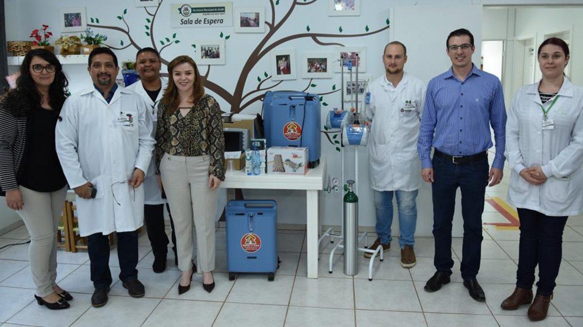 Em Chopinzinho, Secretaria Municipal de Saúde recebe novos equipamentos e veículos