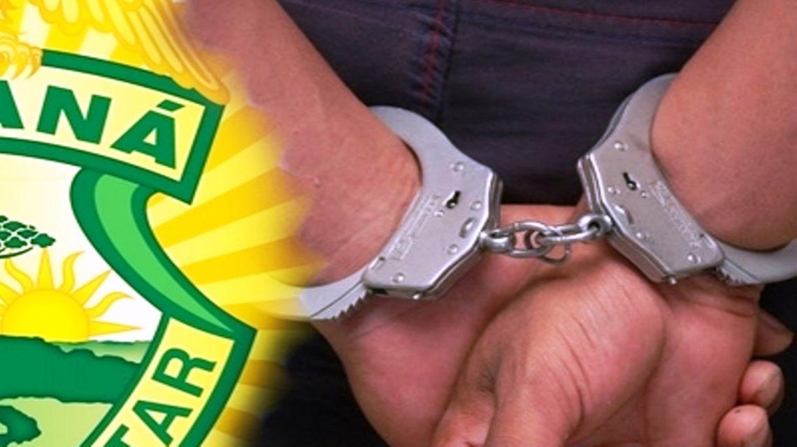 Polícia Militar cumpre mandado de prisão em Chopinzinho